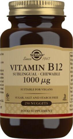 VITAMIN B12 1000UG KOBALAMIN (250TYGG)