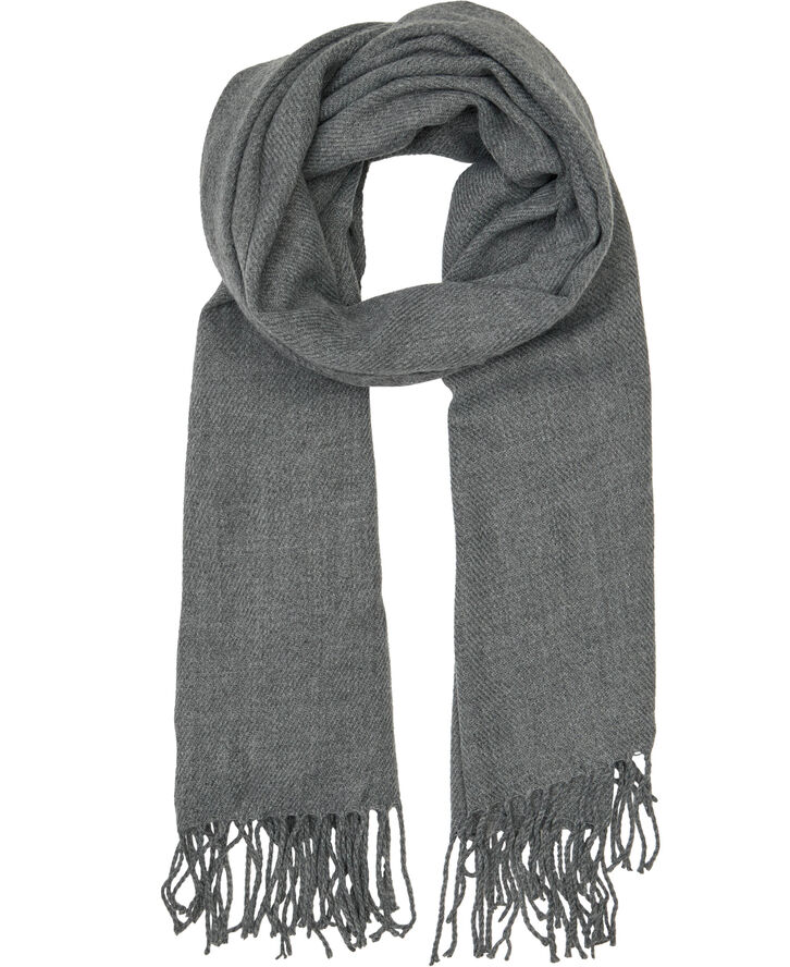JACSOLID WOVEN SCARF NOOS