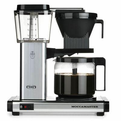 Kaffemaskine Polished Silver