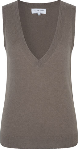 Wool & cashmere vest