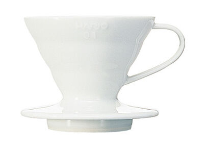 Hario Dripper V60 1 cup, White Ceramic