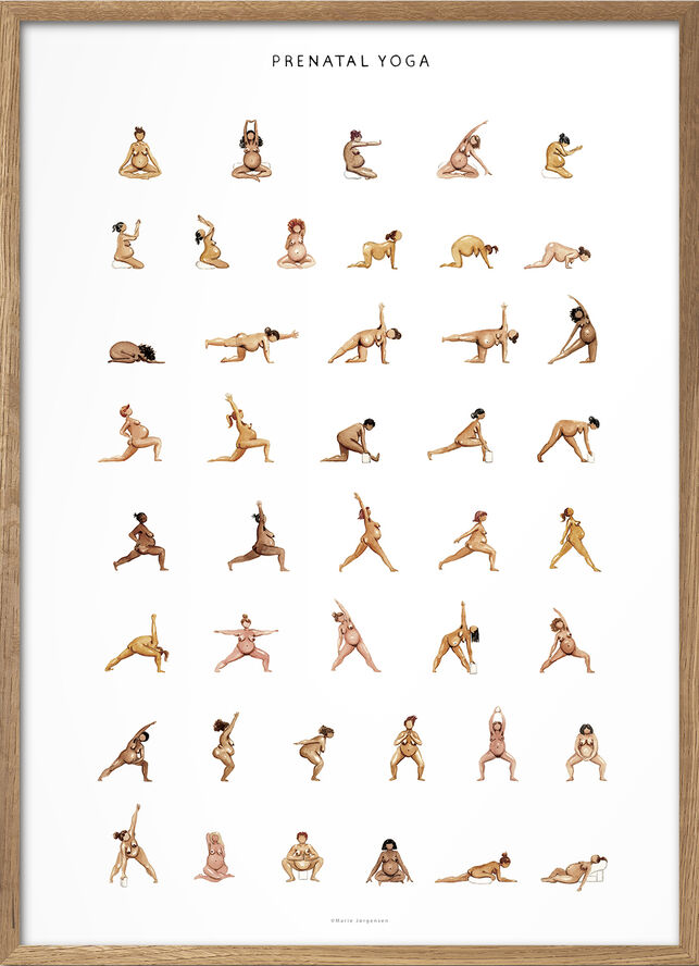 Yoga Prints - Prental Yoga
