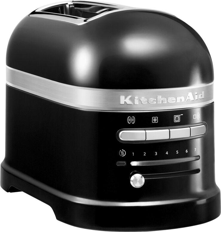 Artisan toaster 2 skiver sort