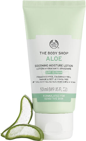 Aloe Soothing Moisture Lotion SPF15 PA++