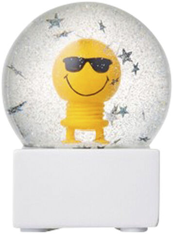 Small Mr. Cool Glitter Globe