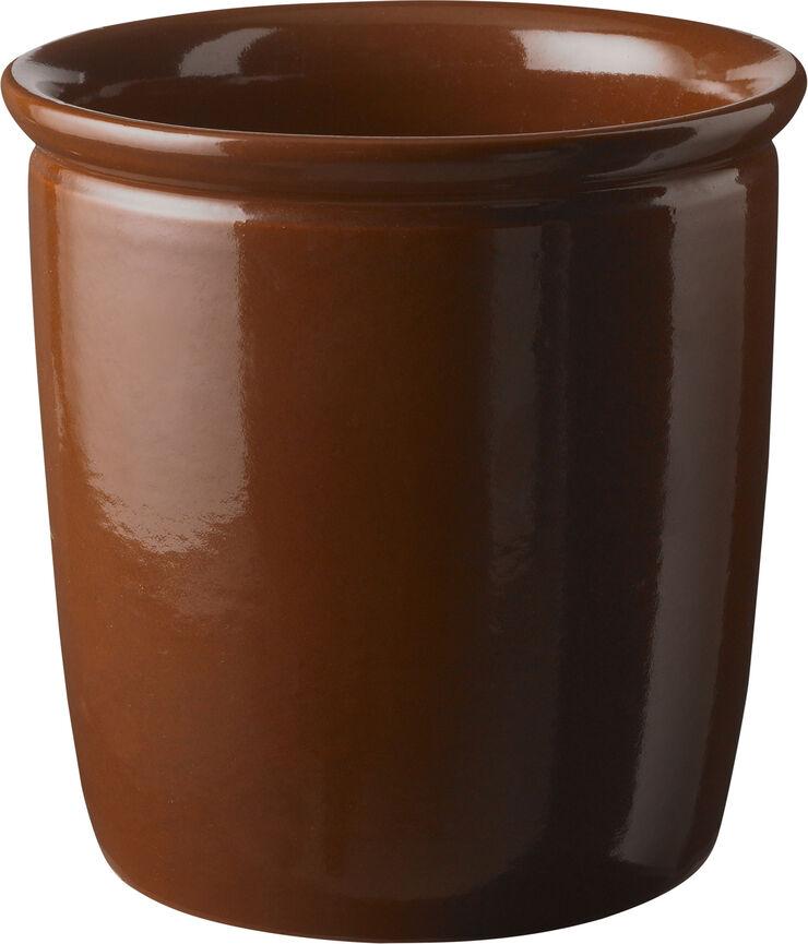 Syltekrukke, brun, 4 l
