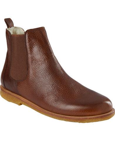 Chelsea støvle m. uldfoer