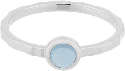 Shine Blue Ring - Topaz, size 55
