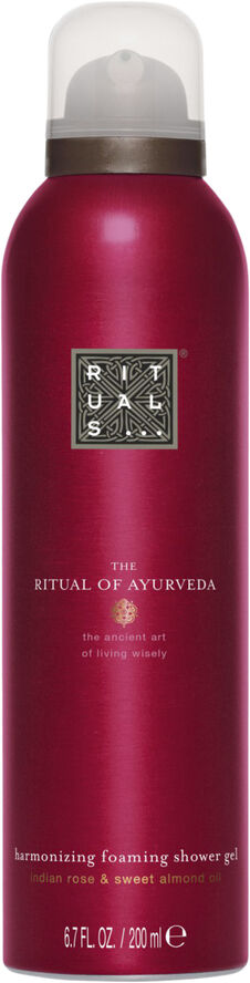 The Ritual of Ayurveda Foaming Shower Gel