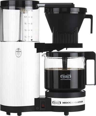 Kaffemaskine Metallic White