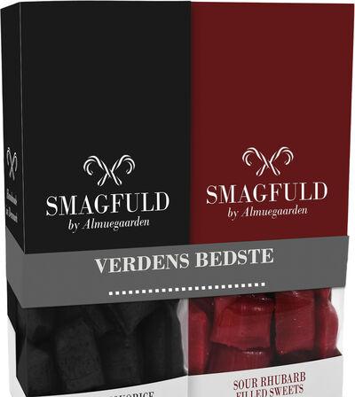 Smagfuld Gavepakning - VERDENS BEDSTE sort/rød