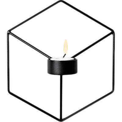 POV Candleholder Wall, Black