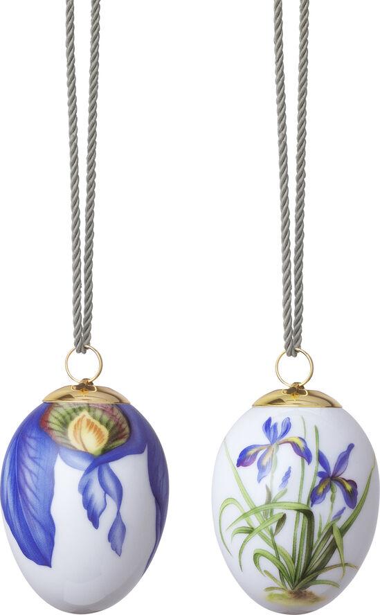 Påskeæg 2 stk - Iris & Iris blade
