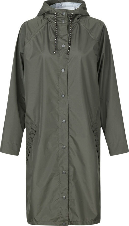 Solid Magpie Raincoat
