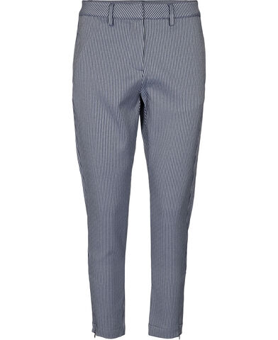 Striped suiting relax fit pant