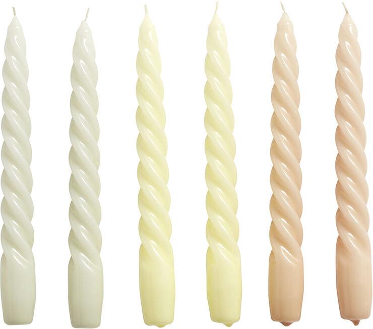 Candle Twist Set of 6