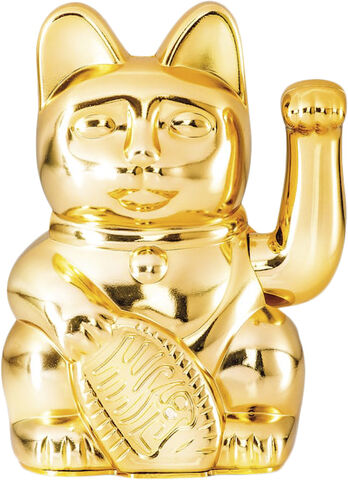 Vinkende Kat - Maneki-Neko - Lucky Cat Gold - Special