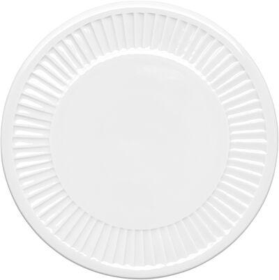 Plissé platte 15 cm