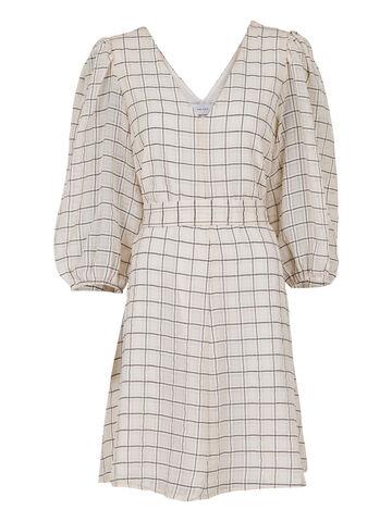 Manua Check Dress