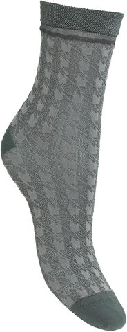 Houndstooth Sora Sock