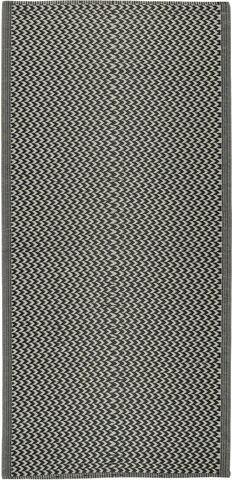 Gulvtæppe mønstret recycled plastik
