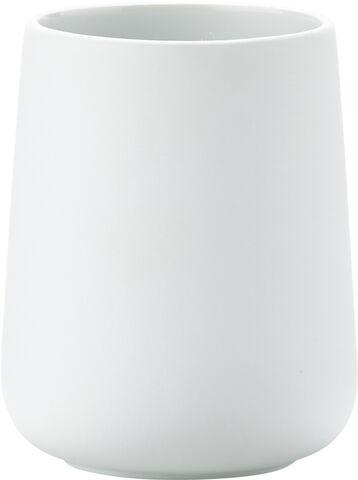 Tandbørstekrus Nova - Porcelæn/Soft touch
