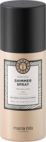 Shimmer spray