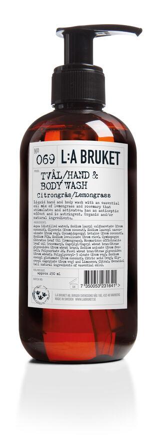 Hand- Body wash Lemongrass 240 ml