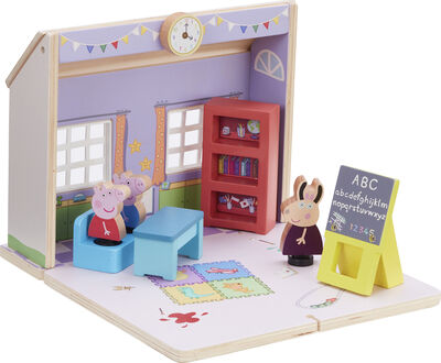 Peppa Wood Play Schoolhouse