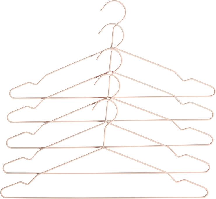 Hang bøjler sæt a 5 - Nude