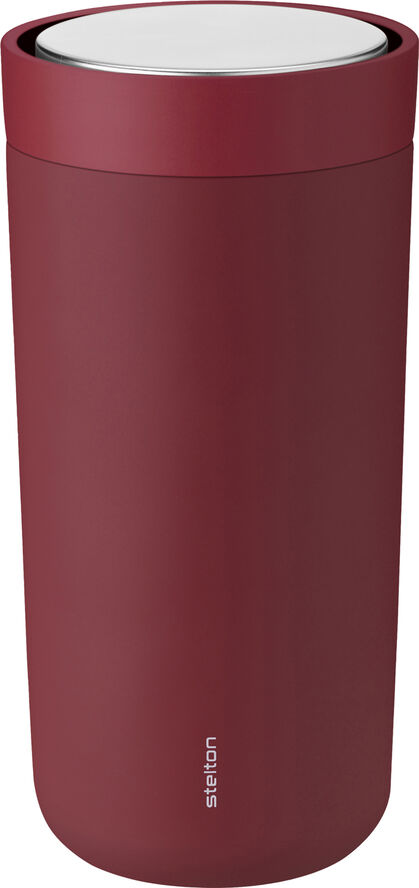 To Go Click d. steel, 0,4 l. - soft warm maroon