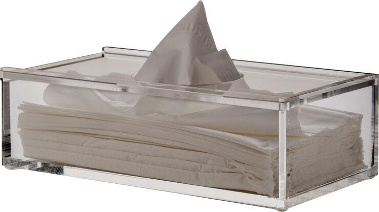 Clear tissue holder