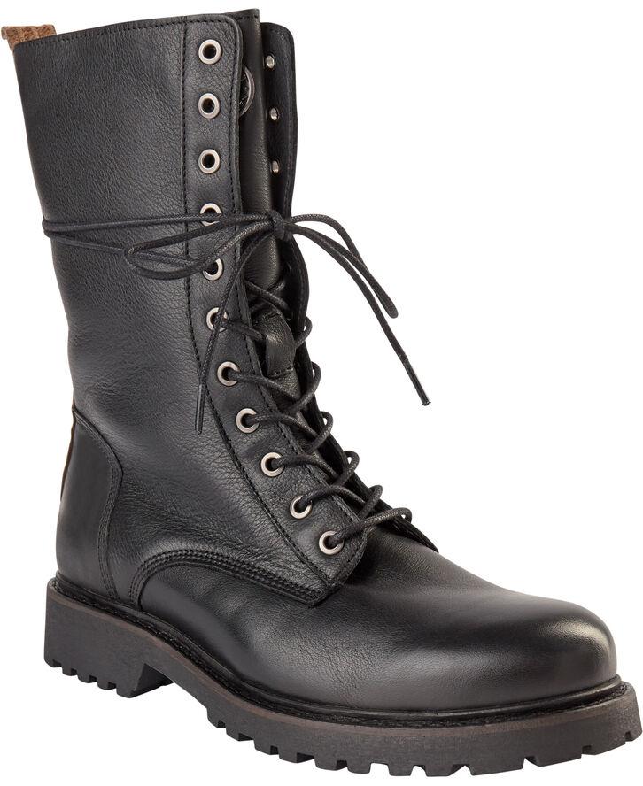 Waterproof lace boot
