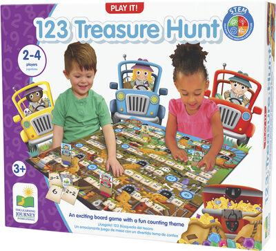 TLJ Play It Game 123 Treasure Hunt