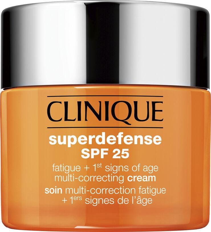 Superdefense SPF 25 fatigue + 1st signs of age multi-correcting cream,