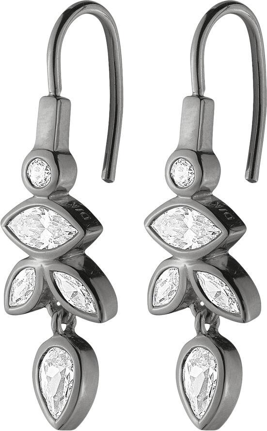 JONI OX CRYSTAL, earring sterling silver