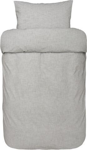 Gustav 2-delt sengesæt grå
