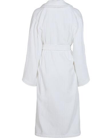 Velour robe white - Organic GOTS