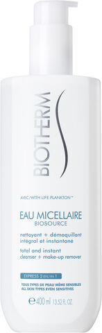 Biotherm Biosource Eau Micellaire Water Cleanser 400ml