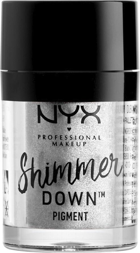 Shimmer Down Pigment - Platinum