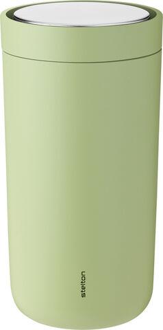 To Go Click d. steel, 0,2 l. - soft green