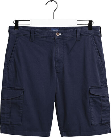 RELAXED TWILL UTILITY SHORTS