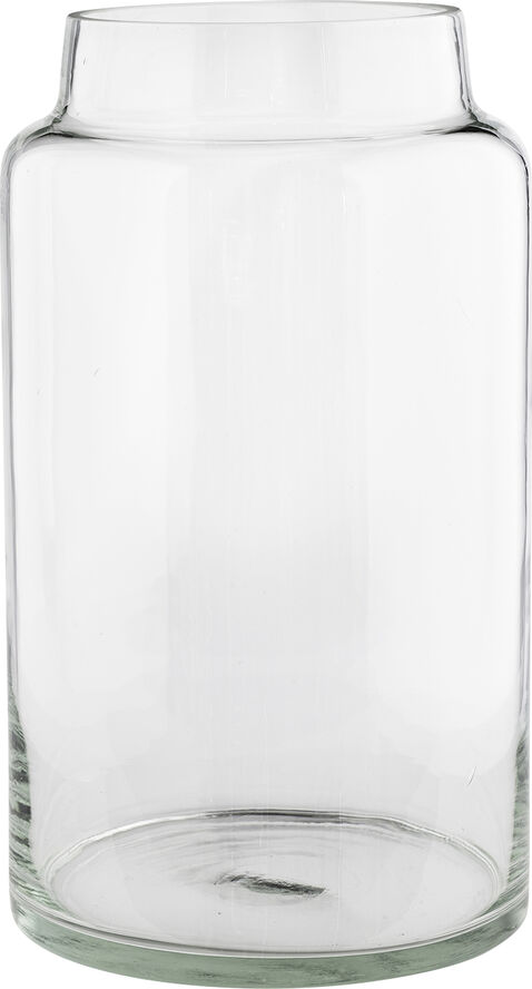 Glas krukke dia 23 H 40,5 cm, Large