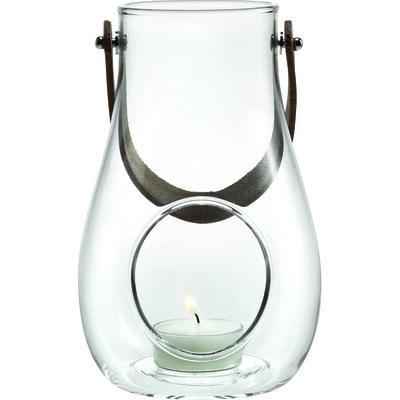 Dwl lanterne klart glas 16 cm.