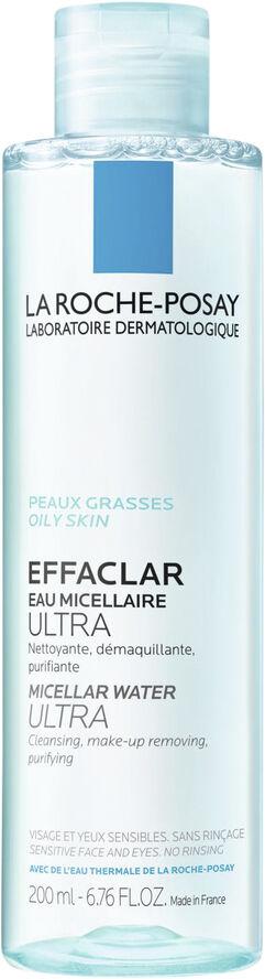 Effaclar 3-I-1 Rensevand Til Fedtet/Uren Hud 200 ml.