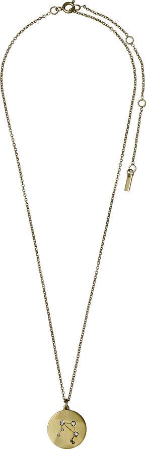 Libra halskæde guld belagt