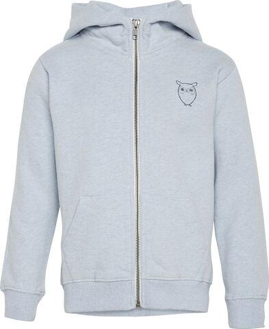 LOTUS owl sweat hood - GOTS/Vegan