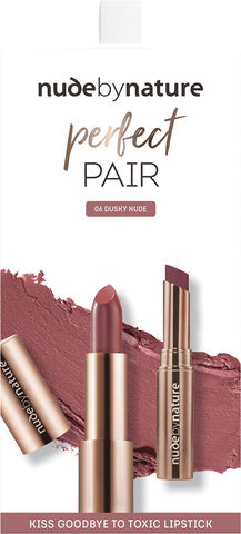 NUDE BY NATURE Kits Perfect pair lip kit dusky nude