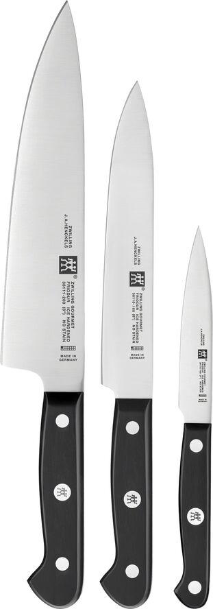 Knivsæt 3 dele ZW Gourmet