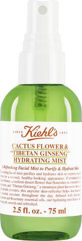 """Cactus Flower & """"Tibetan Ginseng"""" Hydrating Mist 75 ml."""